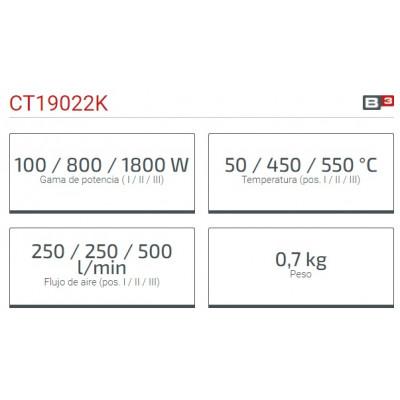 Decapador 1800W Crown CT19022K